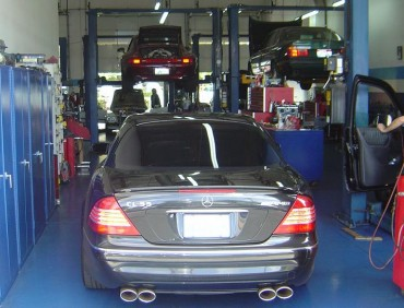 Mercedes Benz Mechanic Irvine